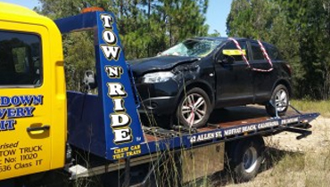 Breakdown and accident towing in caloundra