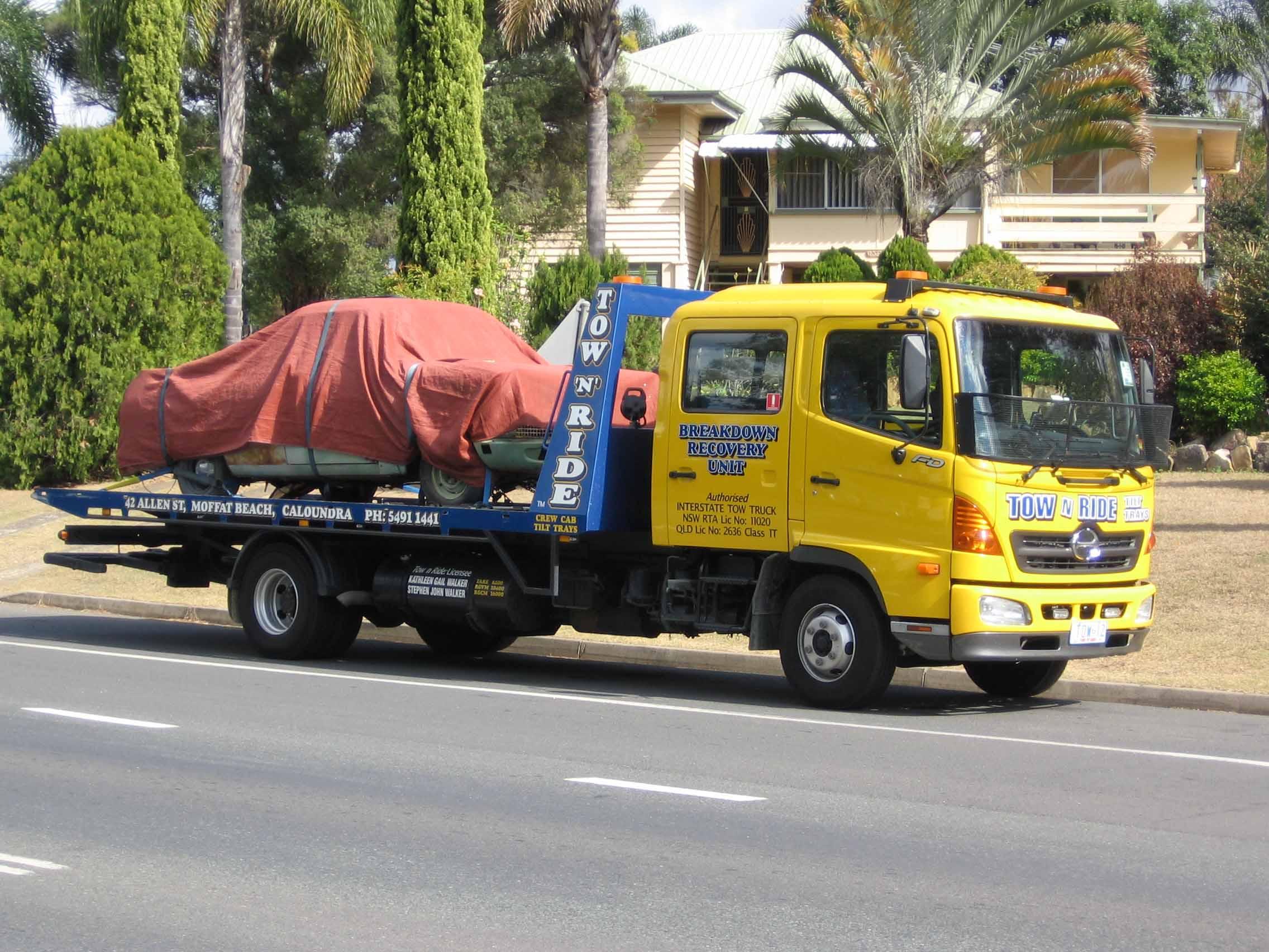 tow truck caloundra